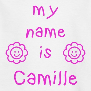 CAMILLE MY NAME IS - T-shirt Enfant