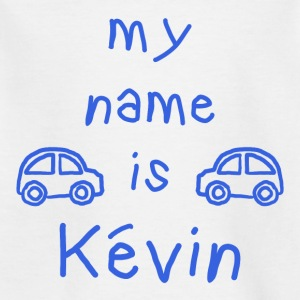 MY NAME IS KEVIN - T-skjorte for barn