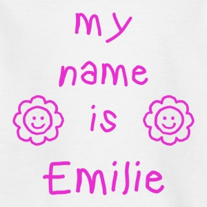 EMILIE MY NAME IS - T-skjorte for barn