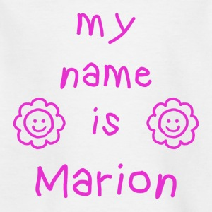 MARION MY NAME IS