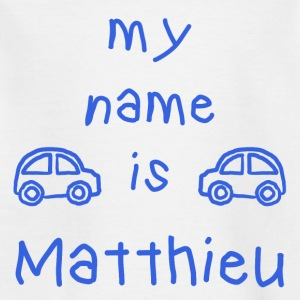 MATTHIEU MY NAME IS - T-shirt Enfant