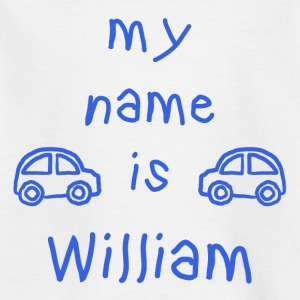 WILLIAM MY NAME IS - T-shirt Enfant