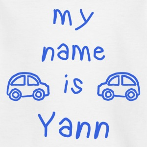 Yann MY NAME IS - Kinder T-Shirt