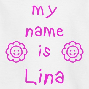 LINA MY NAME IS - T-shirt Enfant