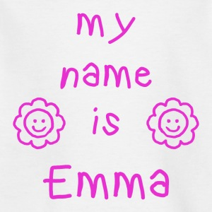 EMMA MEIN NAME - Kinder T-Shirt