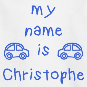 CHRISTOPHE MEIN NAME - Kinder T-Shirt