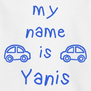 YANIS MEIN NAME - Kinder T-Shirt