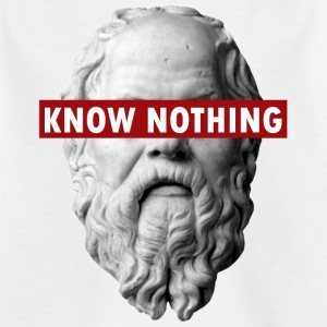 KNOW NOTHING SOCRATES - Kids' T-Shirt