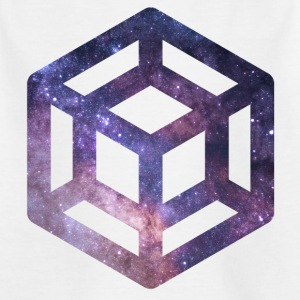 Tesserakt Galaxie - Kinder T-Shirt