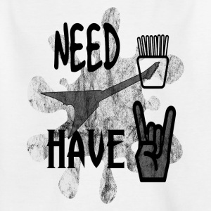 Heavy metal french fries - Kids' T-Shirt