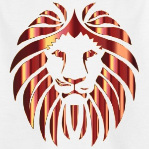 Leo Shiny, Lion's Head - Kinderen T-shirt