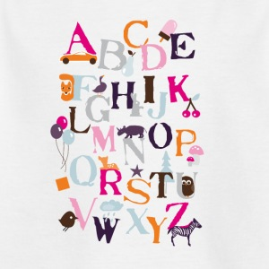 "Motif ""ABC"" - T-shirt Enfant"