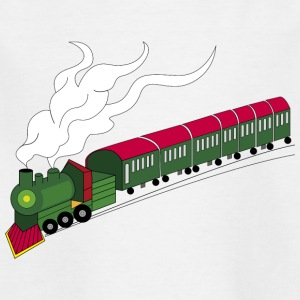 toy train - Kids' T-Shirt