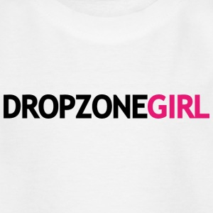Drop Zone Girl - Kinderen T-shirt