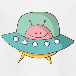 flying saucer - Kids' T-Shirt