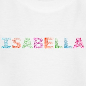 Isabella Letter Name - T-shirt barn