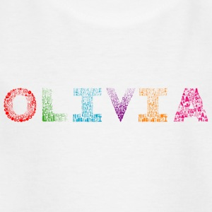 Olivia Letter Name - Kids' T-Shirt