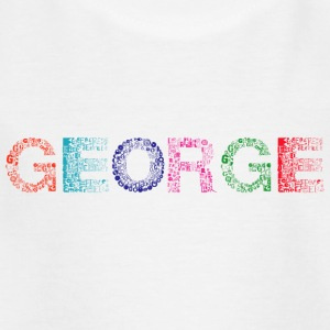 George Letter Name - T-shirt barn
