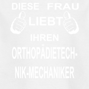 Frau ORTHOPAeDIETECHNIK MECHANIKER - Kinder T-Shirt