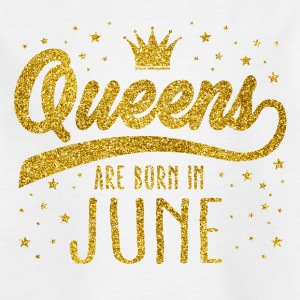 Gold Glitter Queens Are Born In June