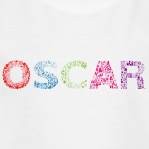 Oscar Letter Name - Kids' T-Shirt