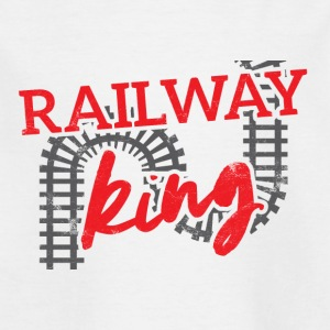 Train driver, train conductor, railway, subway, ICE, train - Kids' T-Shirt