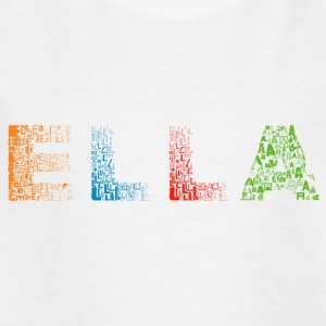 Ella Letter Name - T-shirt barn