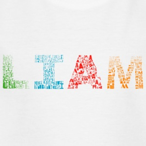 Liam Letter Name - Kinder T-Shirt