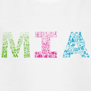 Mia Brief Name - Kinder T-Shirt