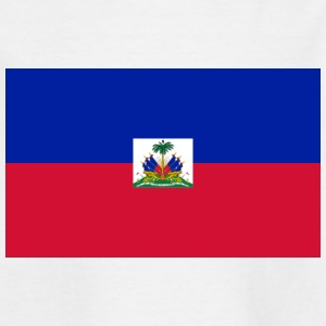 National Flag Of Haiti - Kids' T-Shirt
