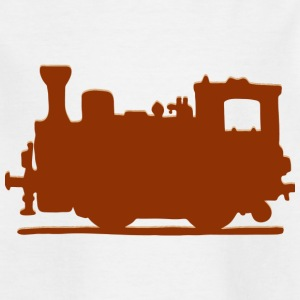 Vintage Steam Train - T-shirt barn
