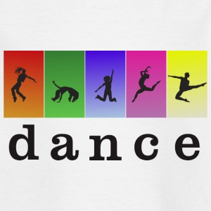 LOVE DANCING WITH COLOR - Kids' T-Shirt