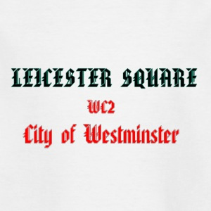 LEICESTER SQUARE - Børne-T-shirt