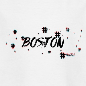 Boston # 3d - Børne-T-shirt