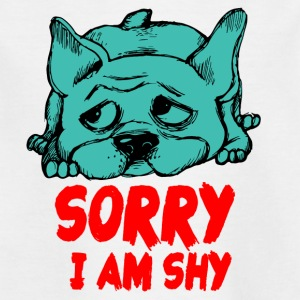 SORRY IAM SHY - Kinder T-Shirt