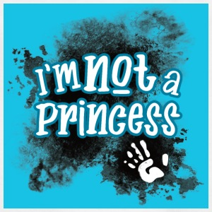 I'm Not a Princess - Kids' T-Shirt
