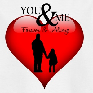 Papa in love, papa in love - Kids' T-Shirt
