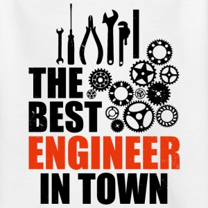 Best Engineer In Town - Kids' T-Shirt
