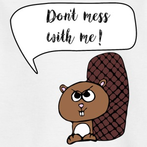cheeky beaver - Kids' T-Shirt