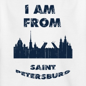 Saint Petersburg I am from - Kids' T-Shirt