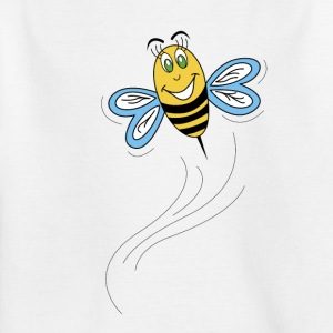 bee under flygning - T-shirt barn