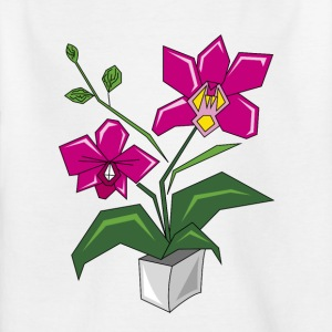 Orchidee - Kinder T-Shirt