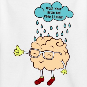 Wash your brain - Kids' T-Shirt