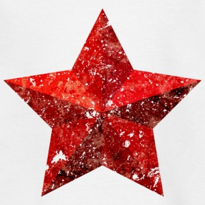 Red Star Red Star Christmas grunge flag