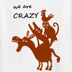 The crazy Bremen city musicians - Kids' T-Shirt