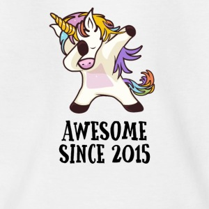 Awesome Sinds 2015 deppen Unicorn 2.GB gift - Kinderen T-shirt