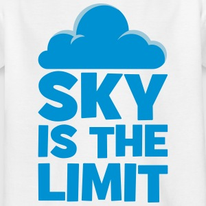 sky is the limit - Kinderen T-shirt