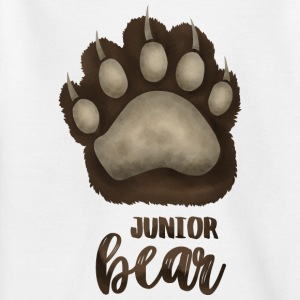 Junior Bear - für Familien-Partnerlook - Kinder T-Shirt