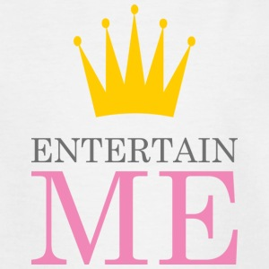 Entertain Me Queen - Kinderen T-shirt