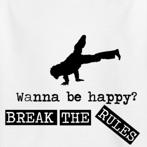 Break The Rules - Kids' T-Shirt